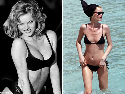 "Eva Herzigova: ""I Have Lost Weight Without Noticing"""