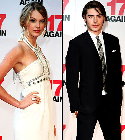Zac Efron Goes Down Under With Taylor Swift