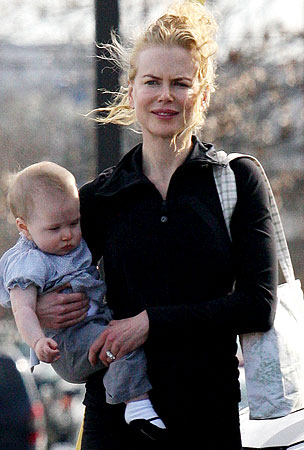 Nicole Kidman and Sunday Rose: The Family That Plays Together