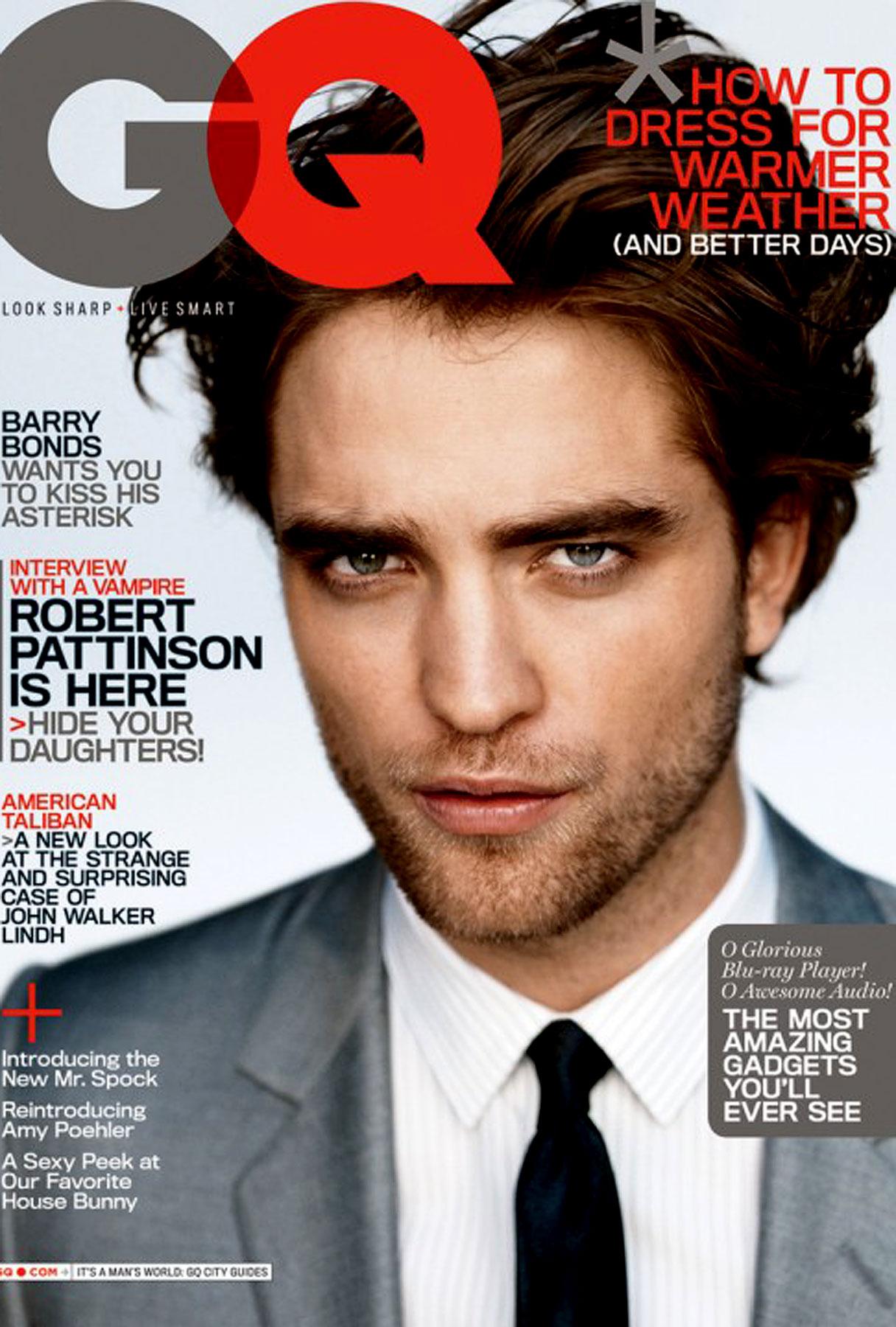 Robert Pattinson Has 'GQ' Covered