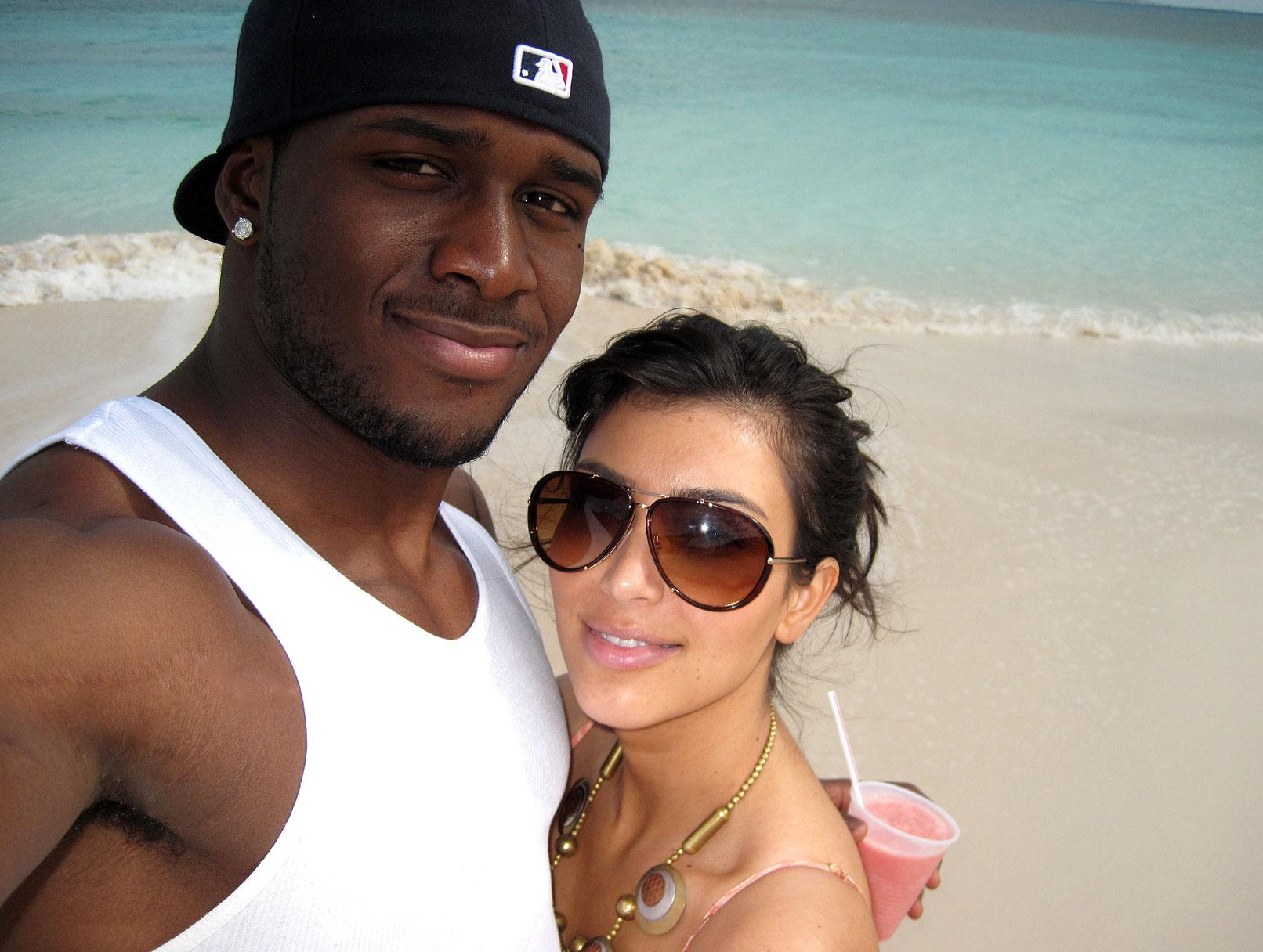 Kim Kardashian and Reggie Bush's Caribbean Getaway