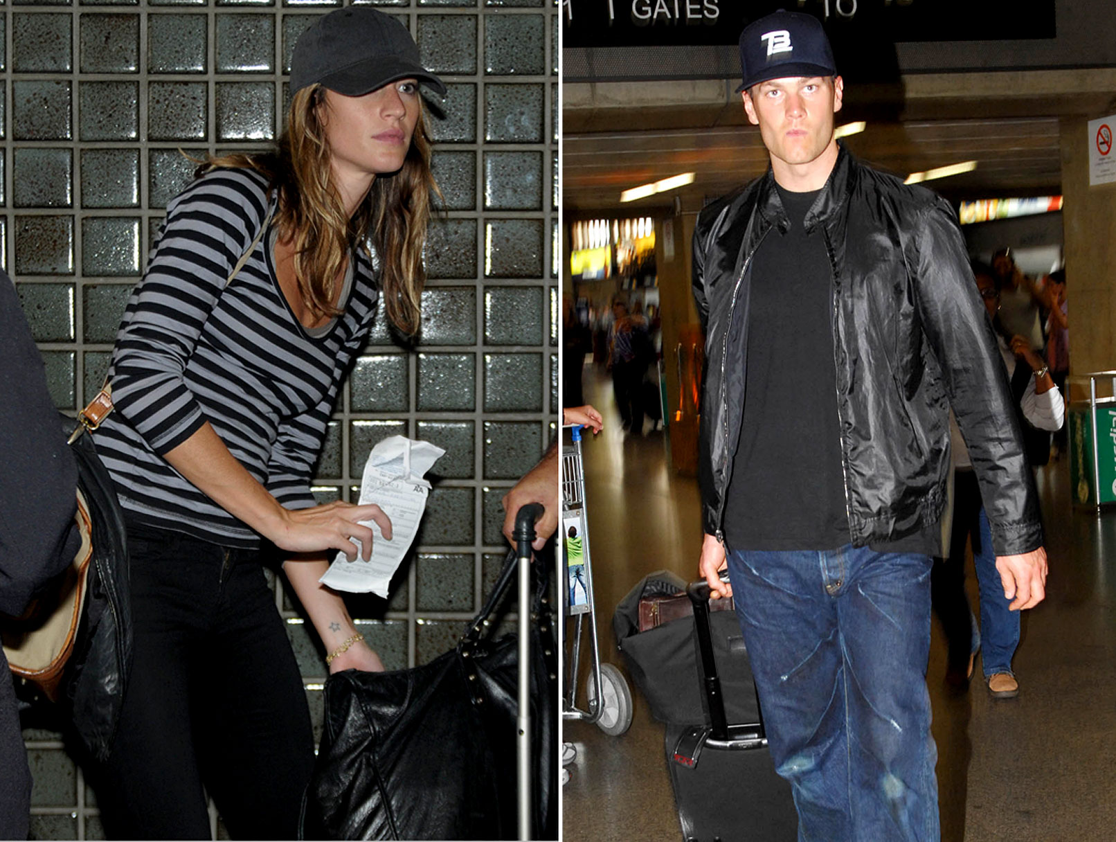 Tom Brady and Gisele Bundchen's Honeymoon Hijinks