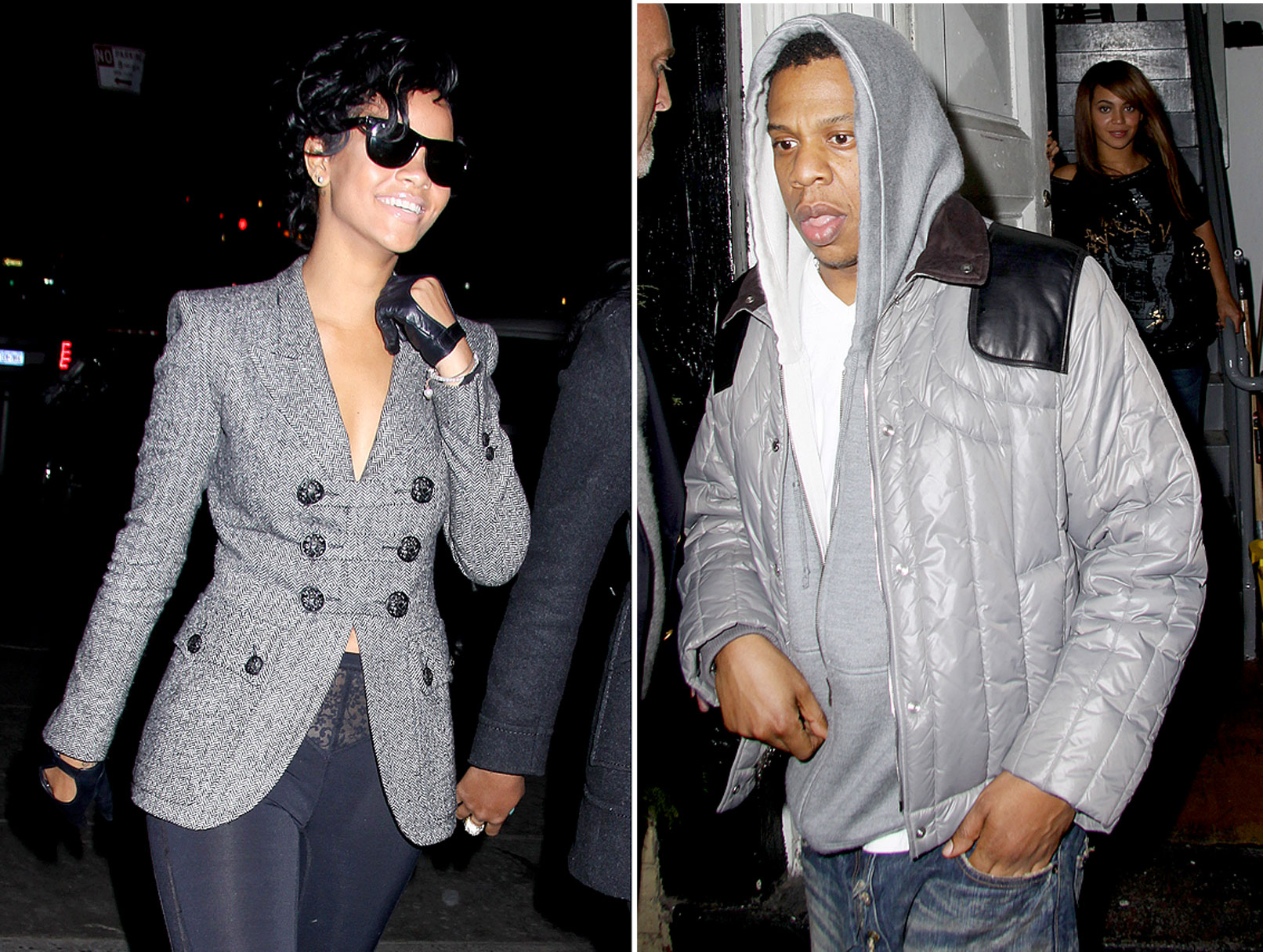 Rihanna's Belated Birthday with Mr. and Mrs. Jay-Z