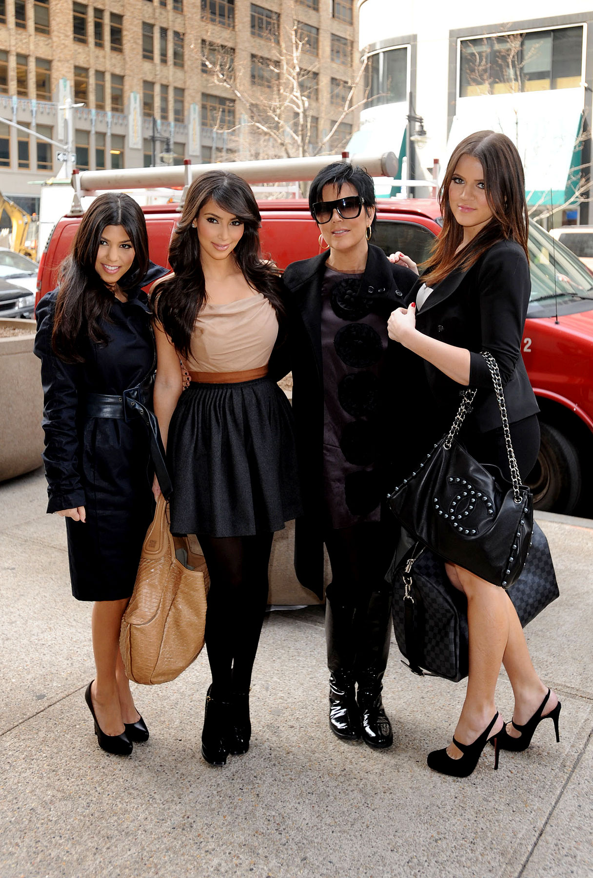 The Kardashians Descend on New York