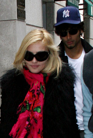 Madonna and Jesus Luz Are Shacking Up