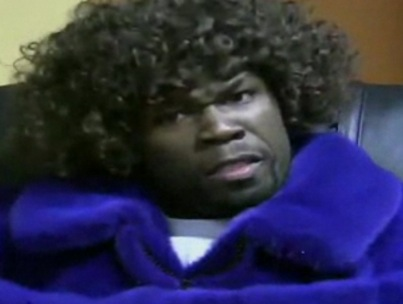 50 Cent Wigs Out