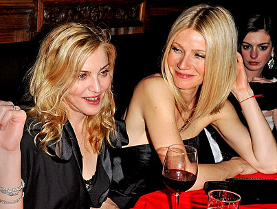 Gwyneth Paltrow Amused By Madonna