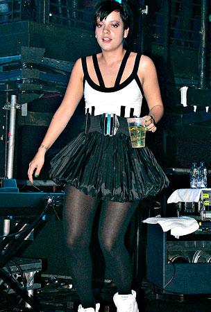 Lily Allen: Drinking in a Tutu