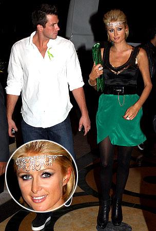 Paris Hilton Goes Green in Vegas
