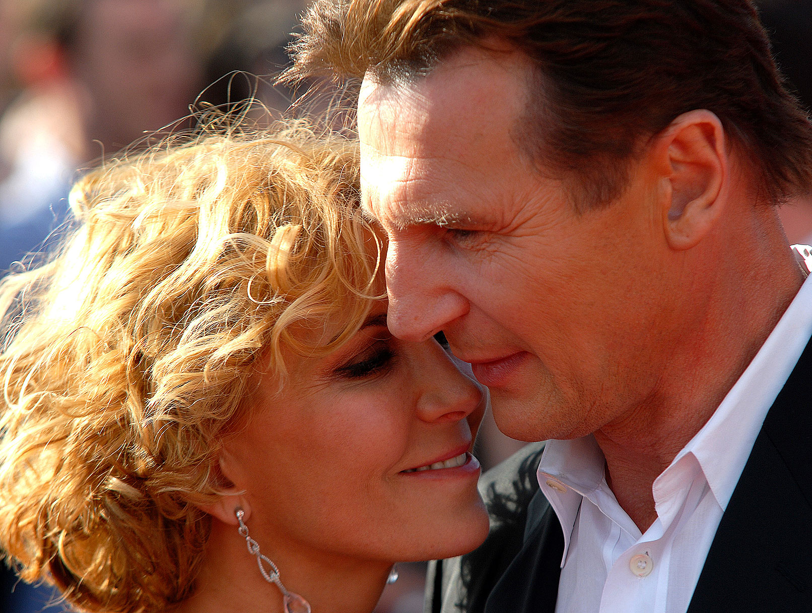Liam's Turn: Neeson Keeps Vigil for Wife Natasha Richardson