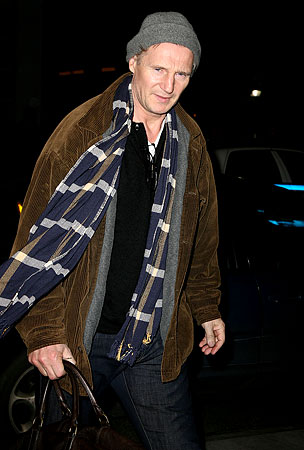 Liam Neeson and Family