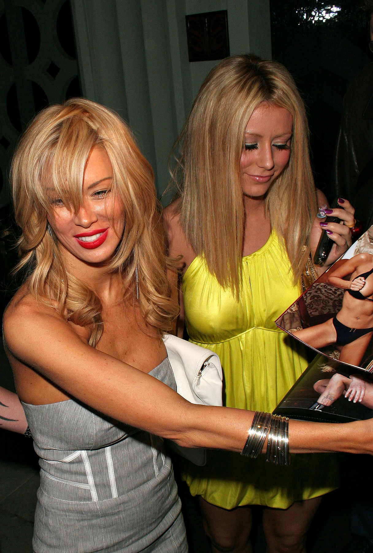 Jenna Jameson and Aubrey O'Day