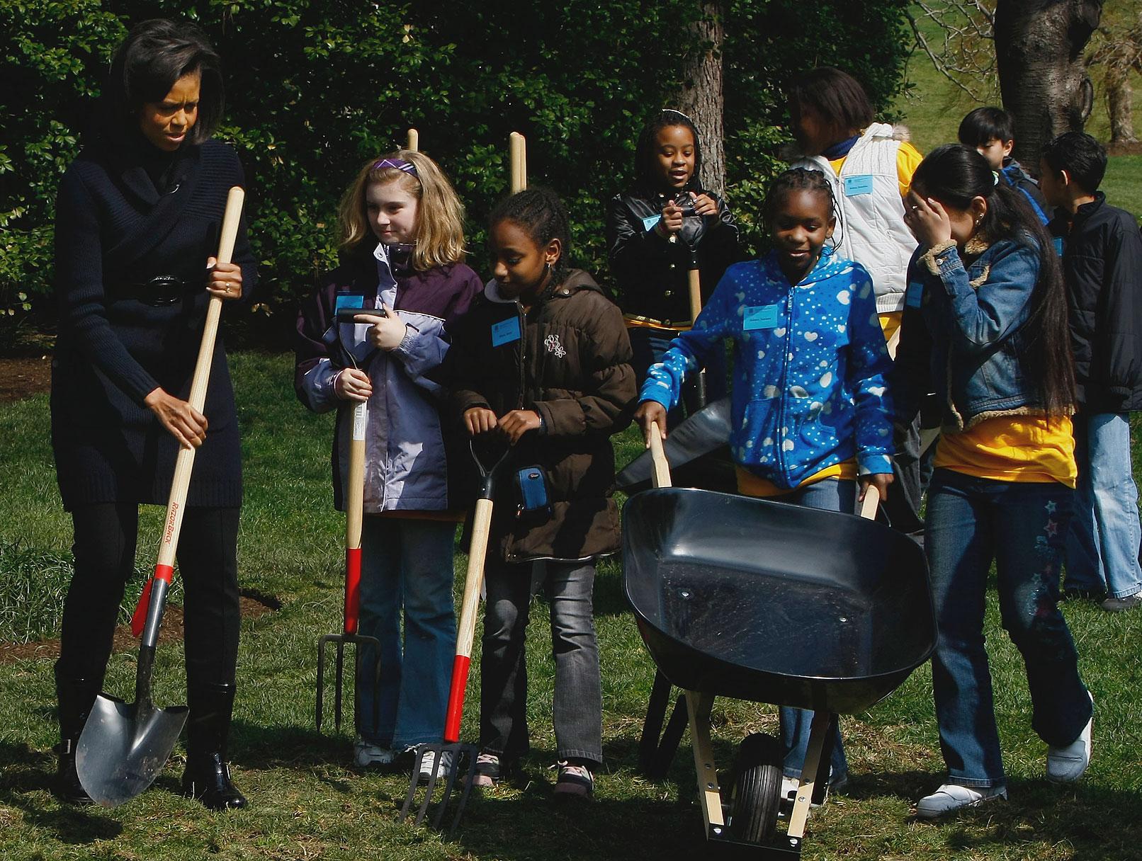 Michelle Obama's Groundbreaking Garden