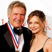 Harrison Ford and Calista Flockhart Engaged