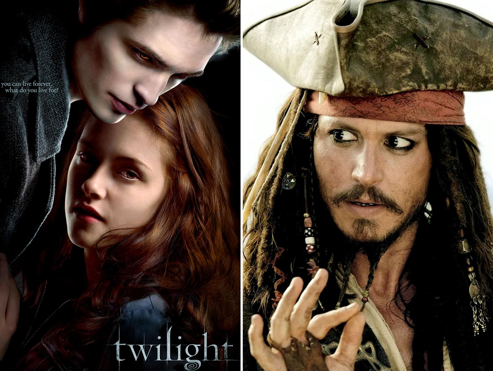 'Twilight' vs. 'Pirates': The DVD Wars