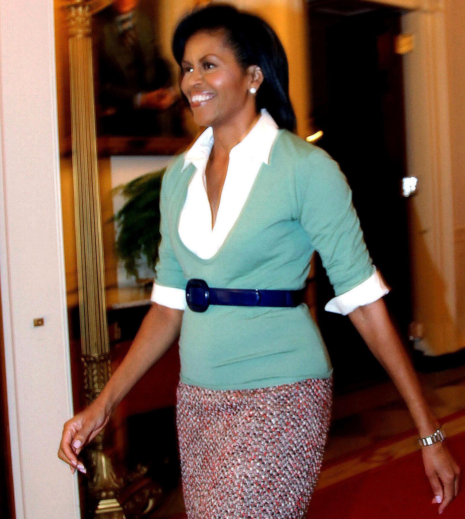 President Obama Tries to Trim First Lady's Closet