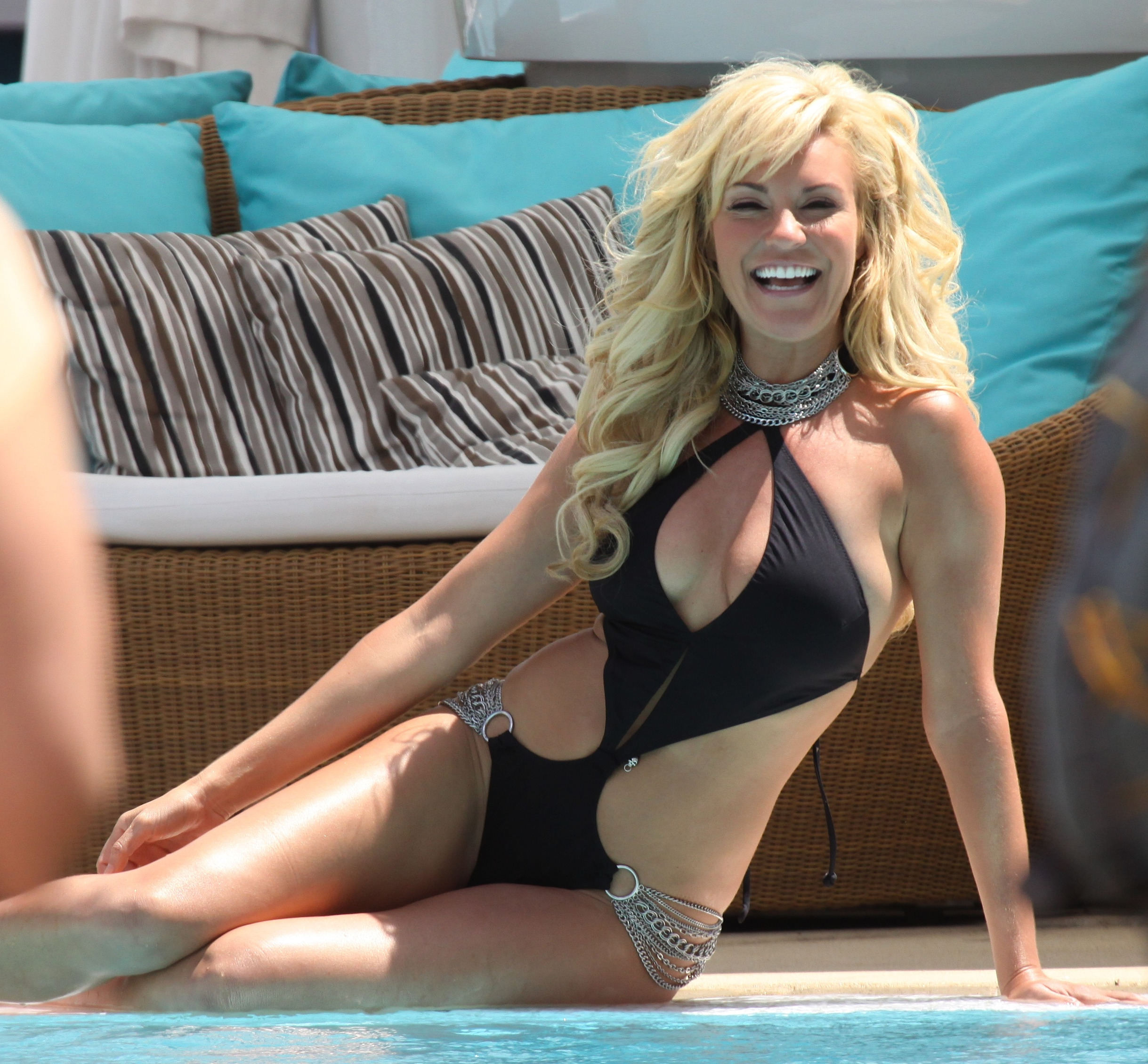 Bridget Marquardt Lies Down on the Job
