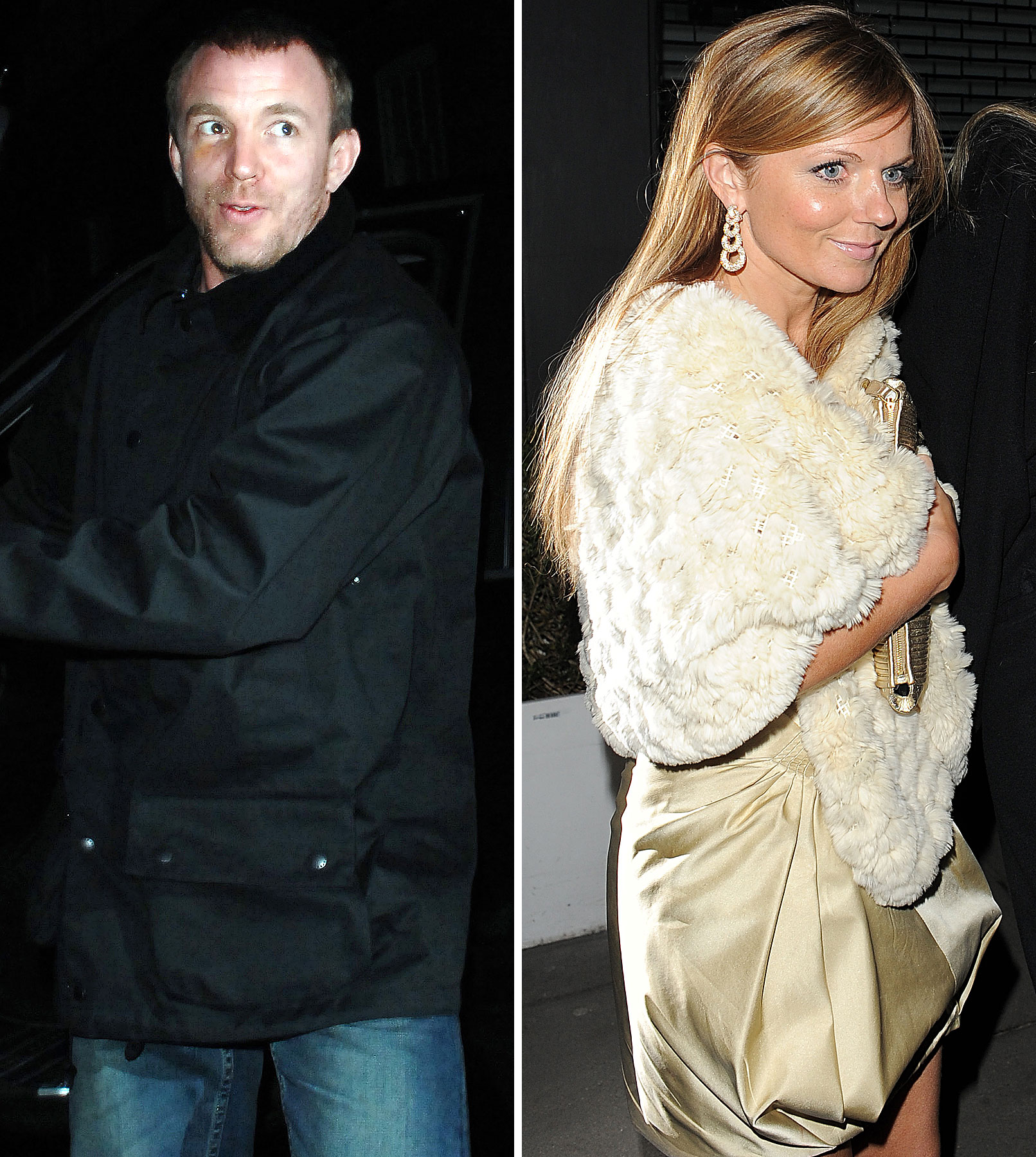 Geri Halliwell and Guy Ritchie