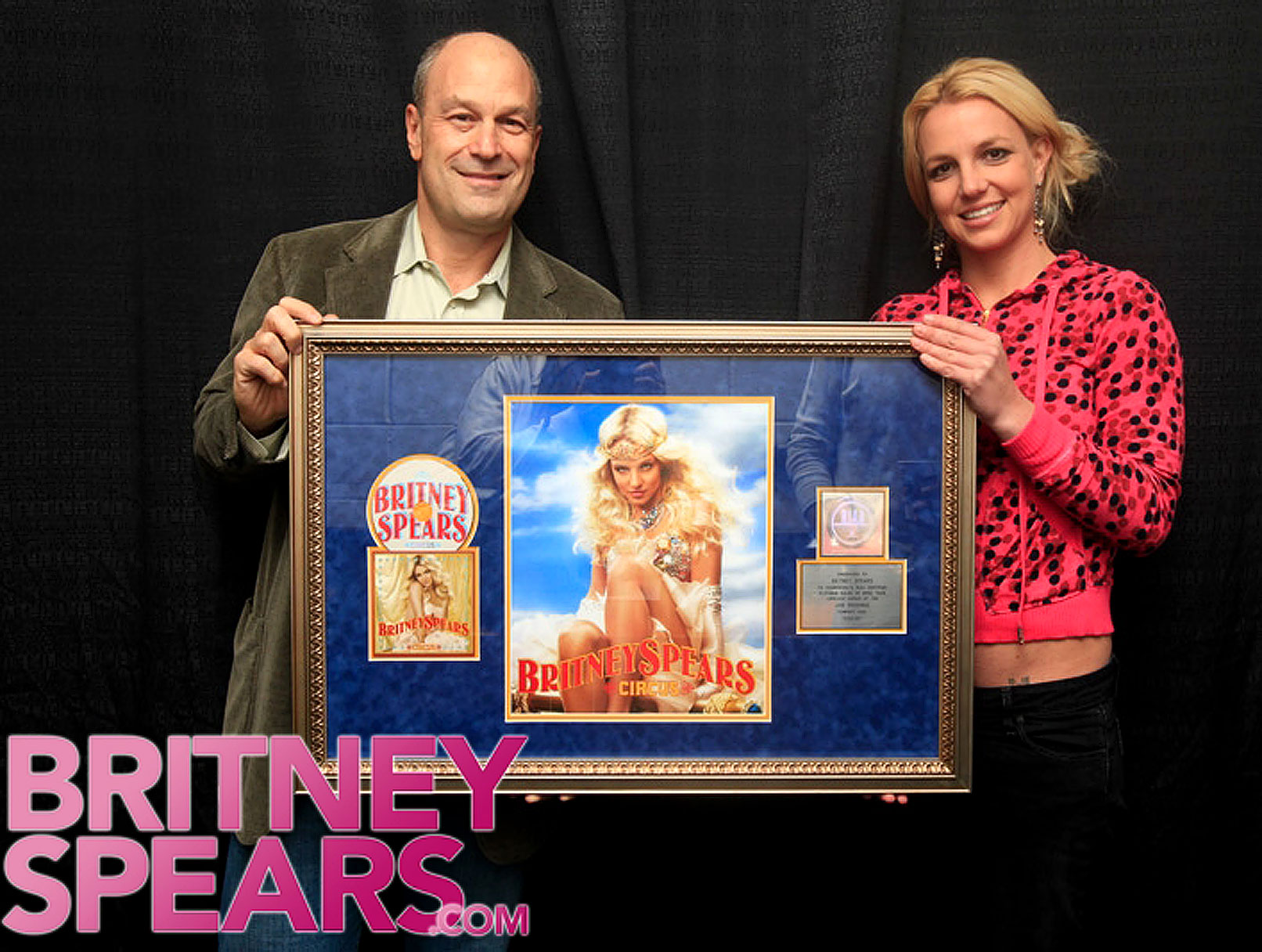 Britney Spears Gets Platinum Star in Montreal