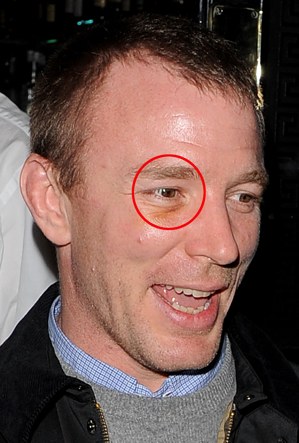 Something Left its Mark on Guy Ritchie