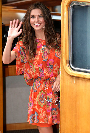 Audrina Patridge Goes Cruising Down Under
