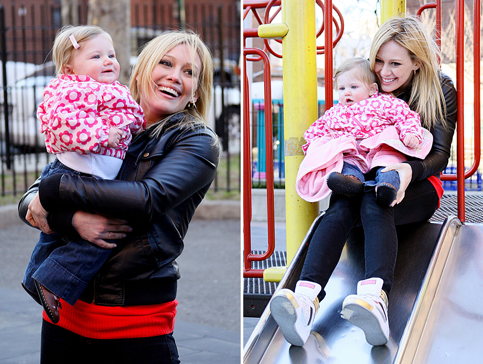 Hilary Duff and Co-Star: Oh, Baby!