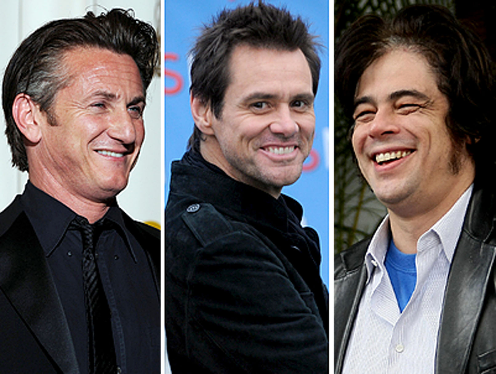 Penn, Carrey and Del Toro to Star in Three Stooges Movie?