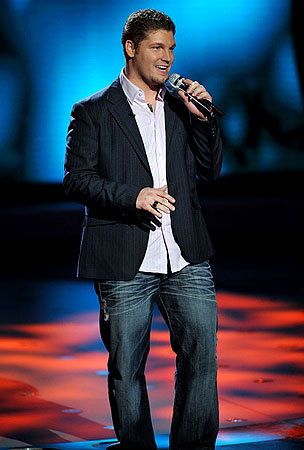 'American Idol': Michael Sarver Goes Back To The Oil Rig