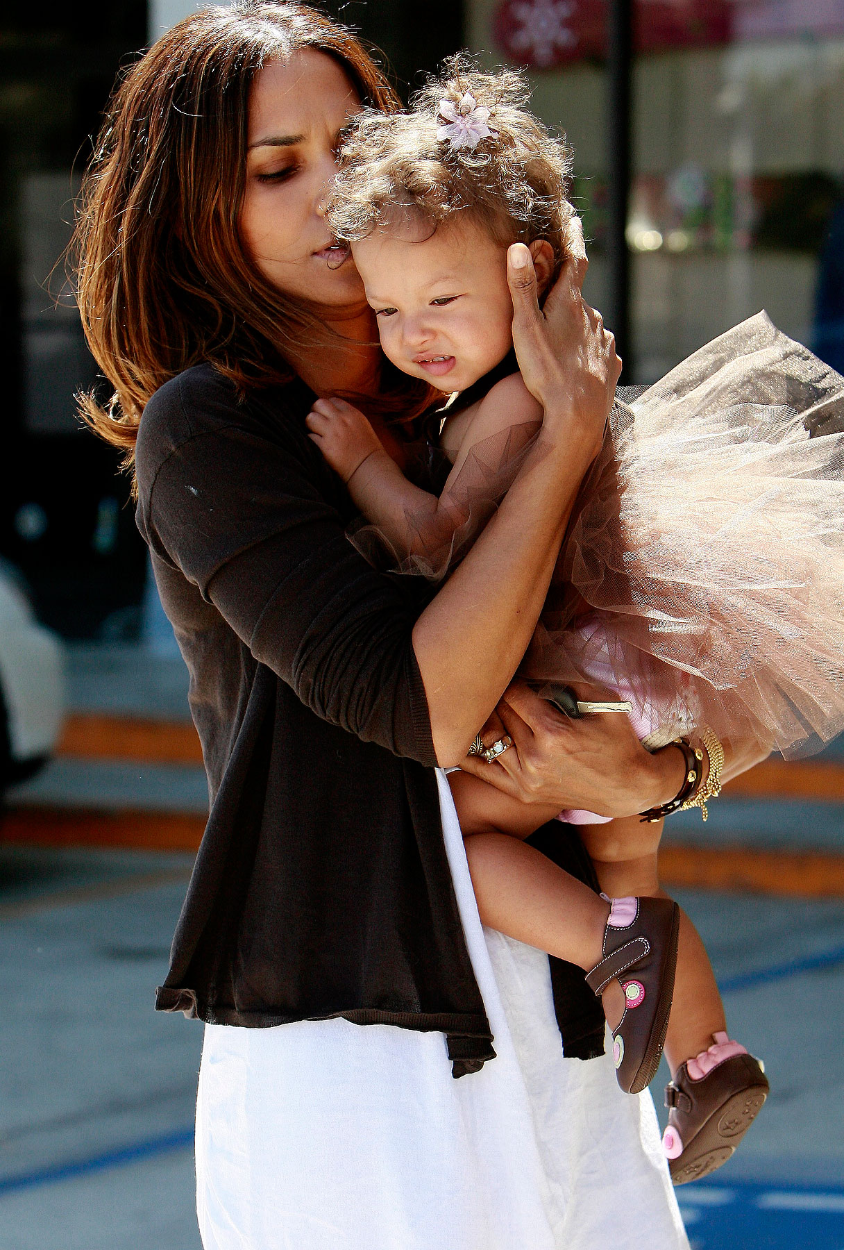Halle Berry's Birthday Play Date