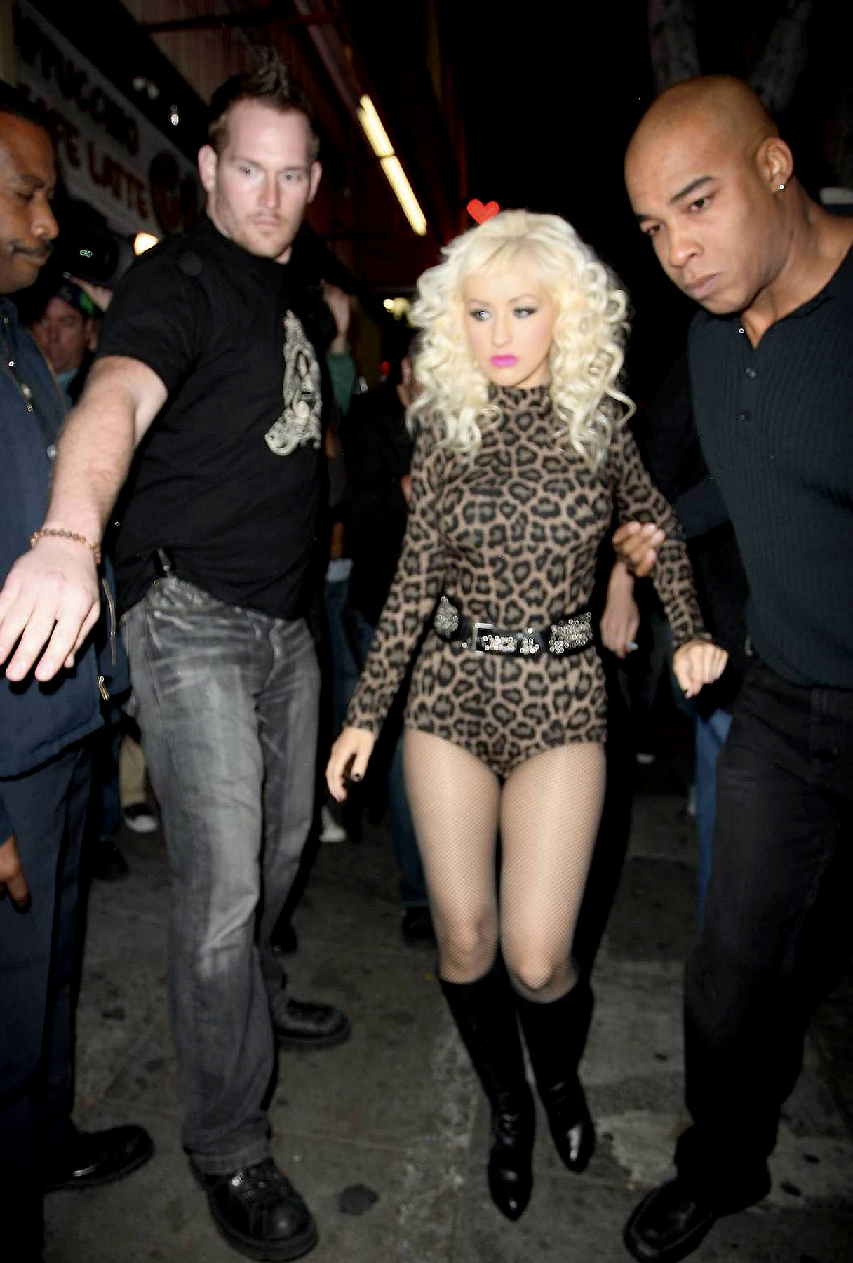 Christina Aguilera Purrs At Perez Hilton's Birthday Party