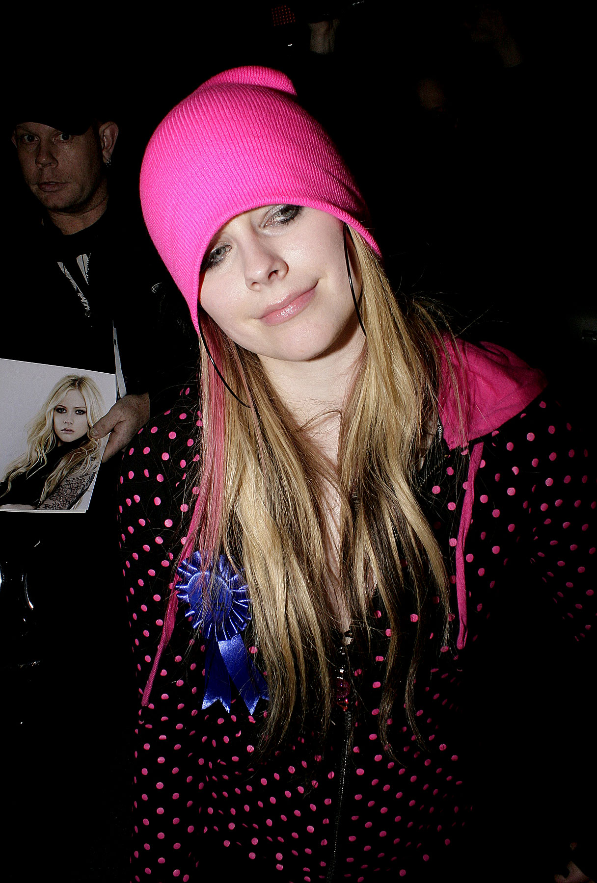 Avril Lavigne Thinks Pink