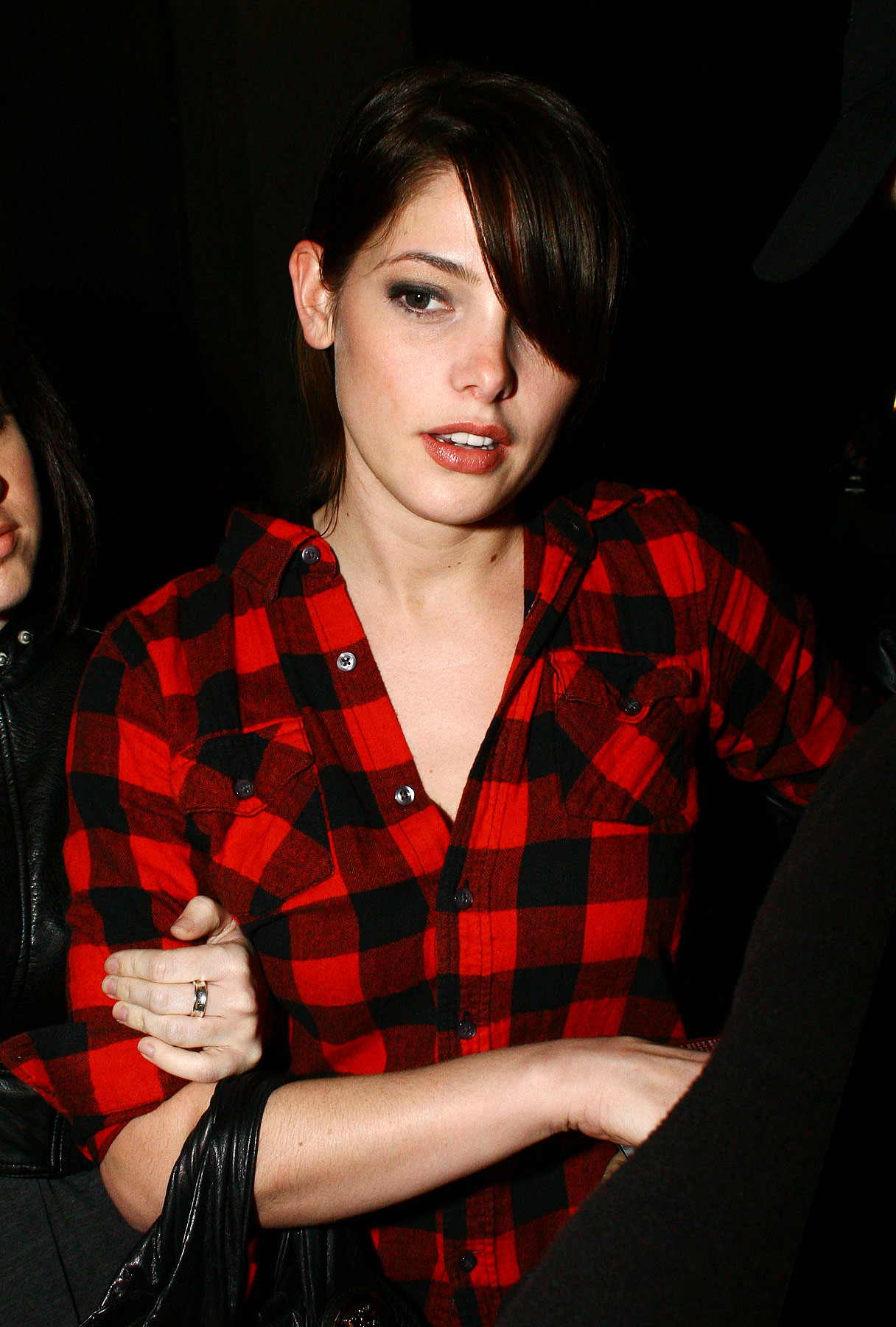 Ashley Greene: Sexy Lumberjack