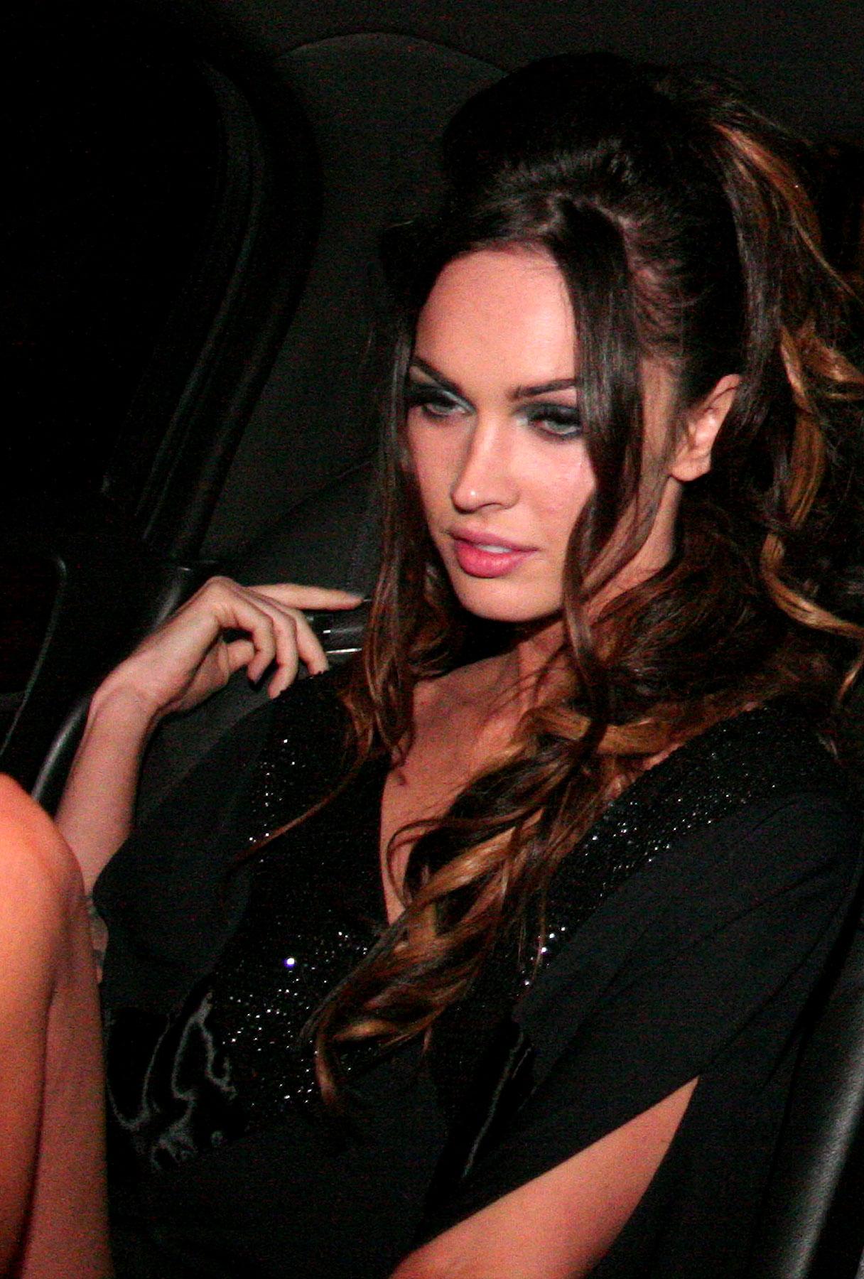 Megan Fox Rides Into the Night Solo