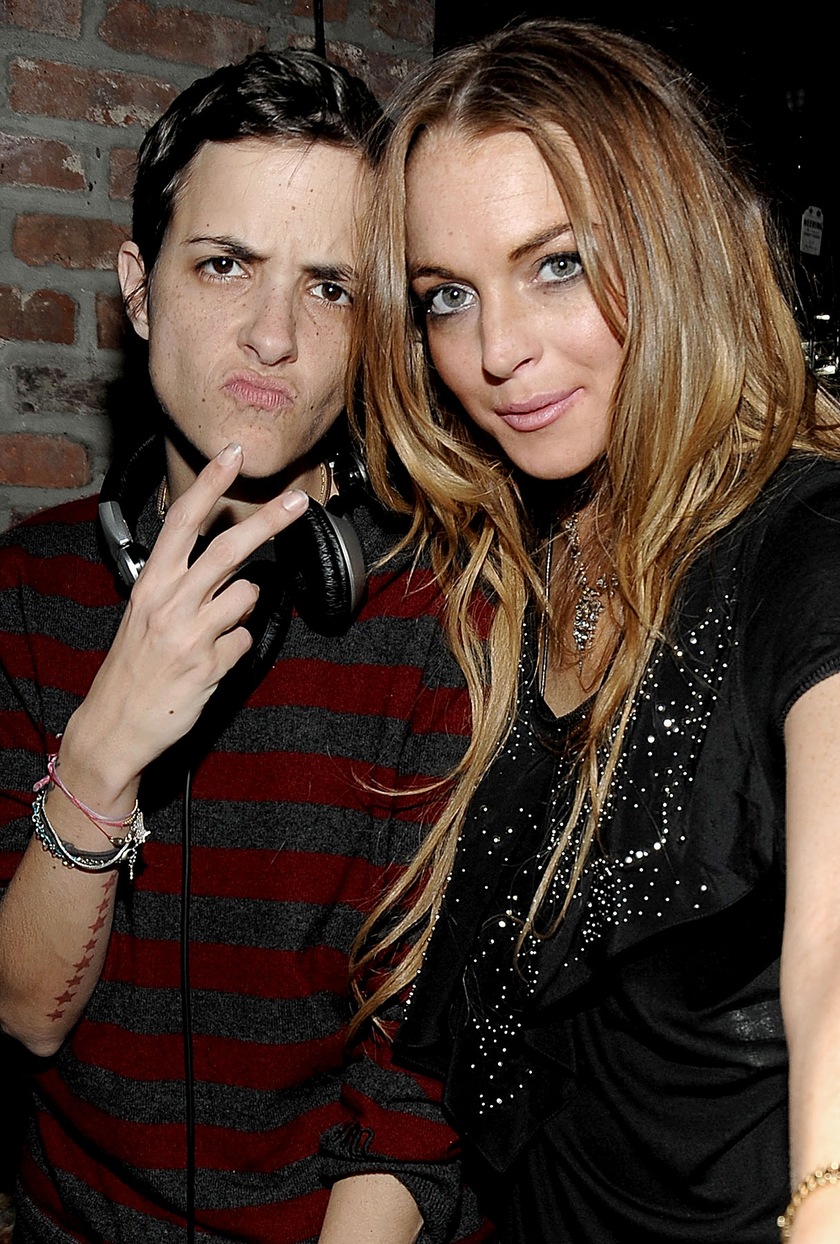 Lindsay Lohan Re-Affirms Her Relationship With Sam
