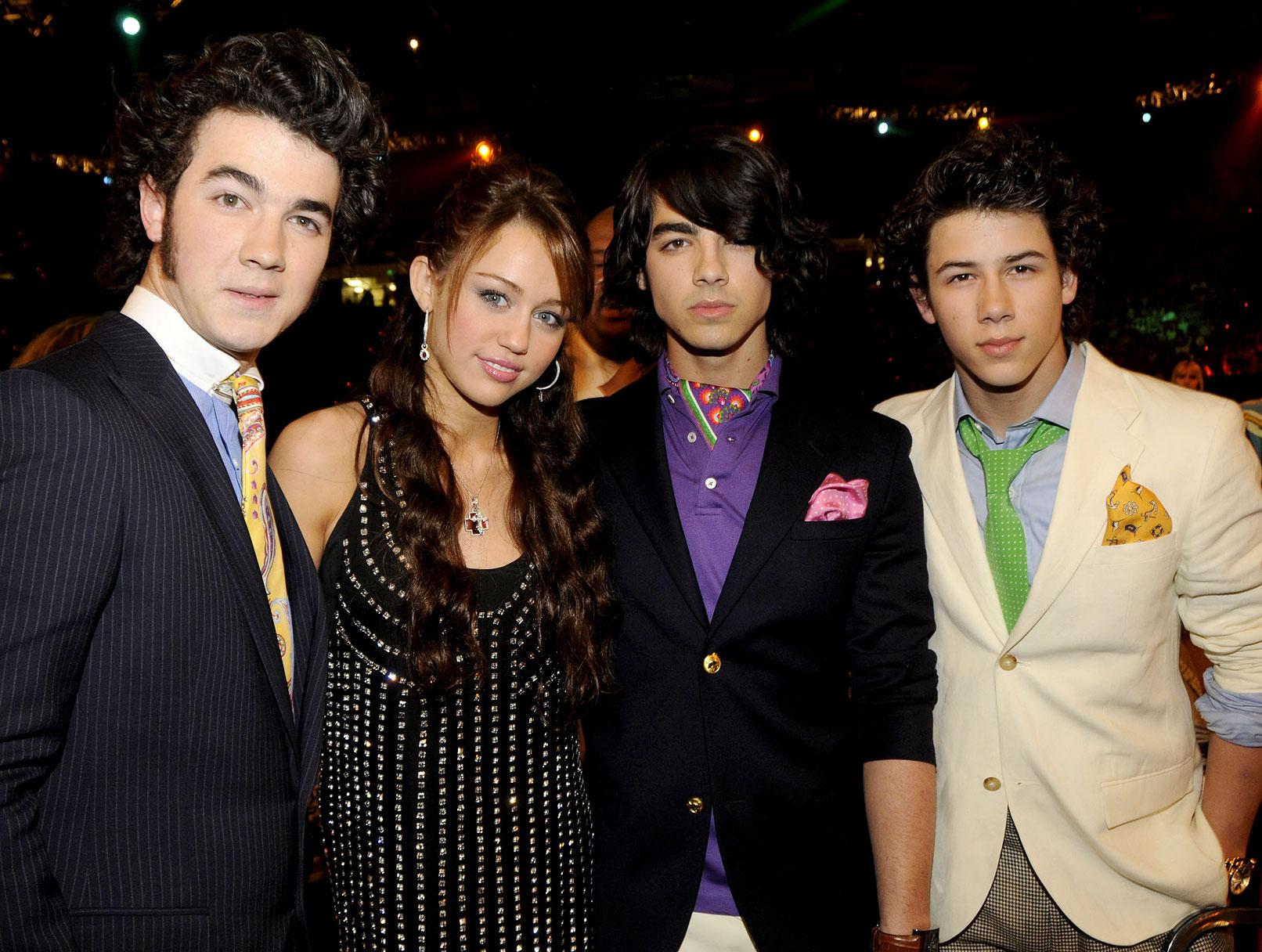 Miley Cyrus: Making Music With Nick Jonas