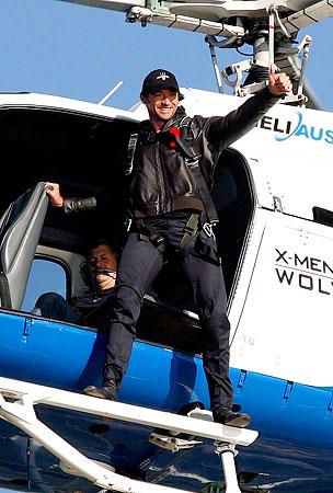 Hugh Jackman's Wolverine Whirlybird