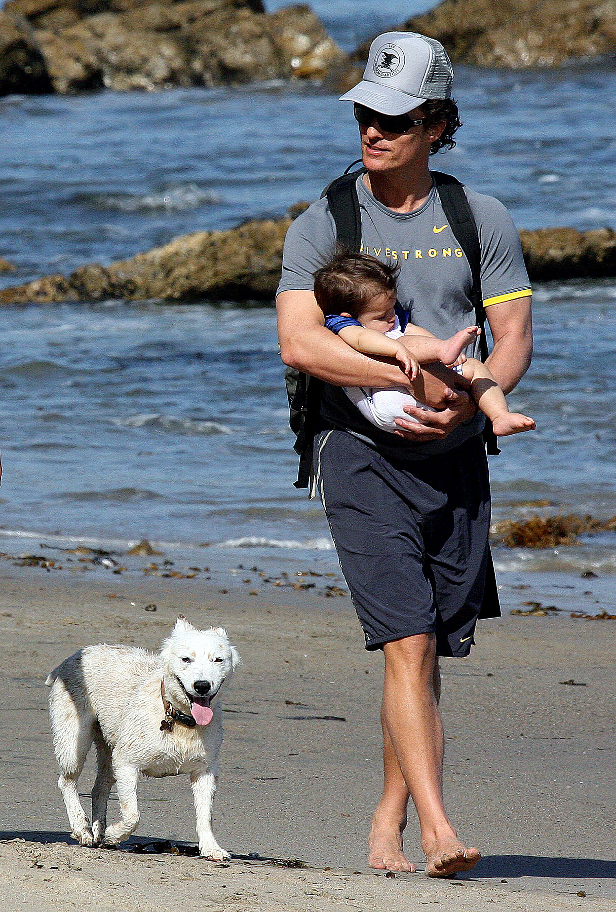 Matthew McConaughey Is Dogging It