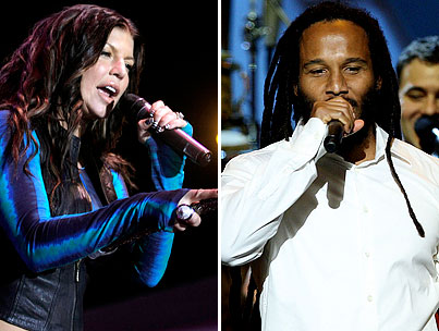 VIDEO: Fergie and Ziggy Marley Show the White House How They Roll