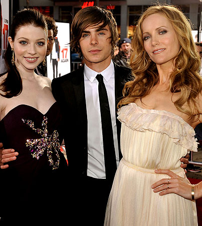 Stars Come Out For The '17 Again' Premiere