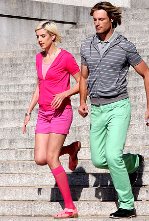 Agyness Deyn and Gabriel Aubrey: Pastel, Yes!