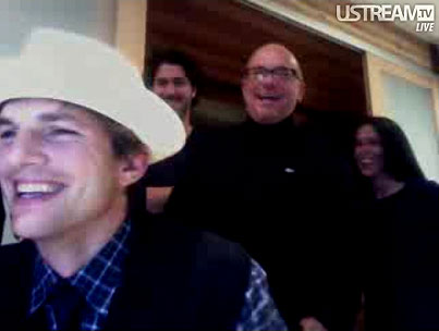 VIDEO: Ashton Kutcher Topples CNN in Twitter Wars!