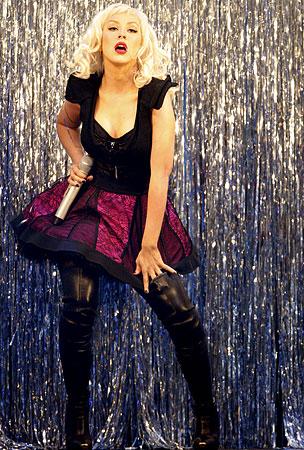 Christina Aguilera Eyeing Burlesque Flick