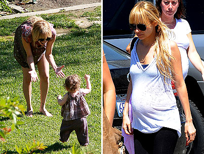 Nicole Richie and Harlow Get Greystoned-photo