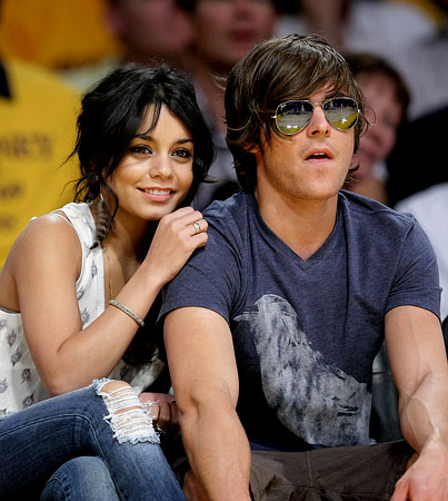 Zac Efron and Vanessa Hudgens' Date Night…With Harvey Levin?