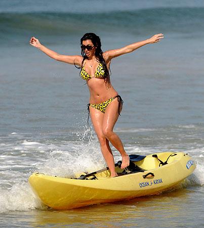 Kim Kardashian Seems a Little Bit Confused