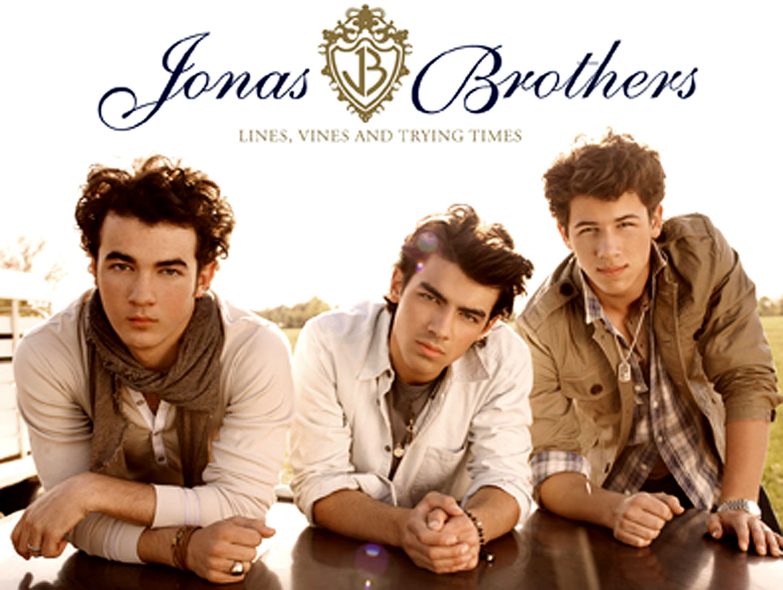 Behold, the Jonas Brothers' New Album Cover!