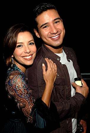 Mario Lopez and Eva Longoria