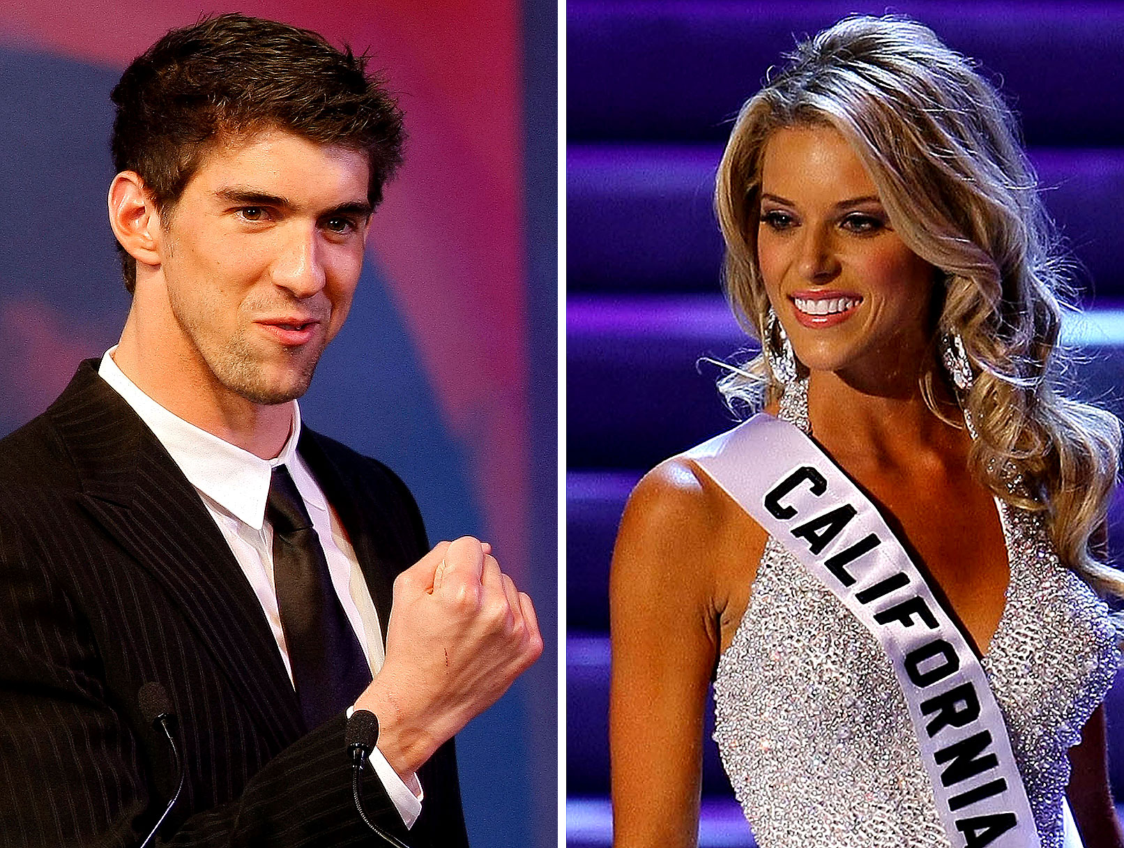 UPDATE: Michael Phelps Denies Dating Miss California