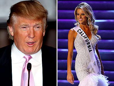 "Donald Trump: Miss California Was ""Unlucky"""