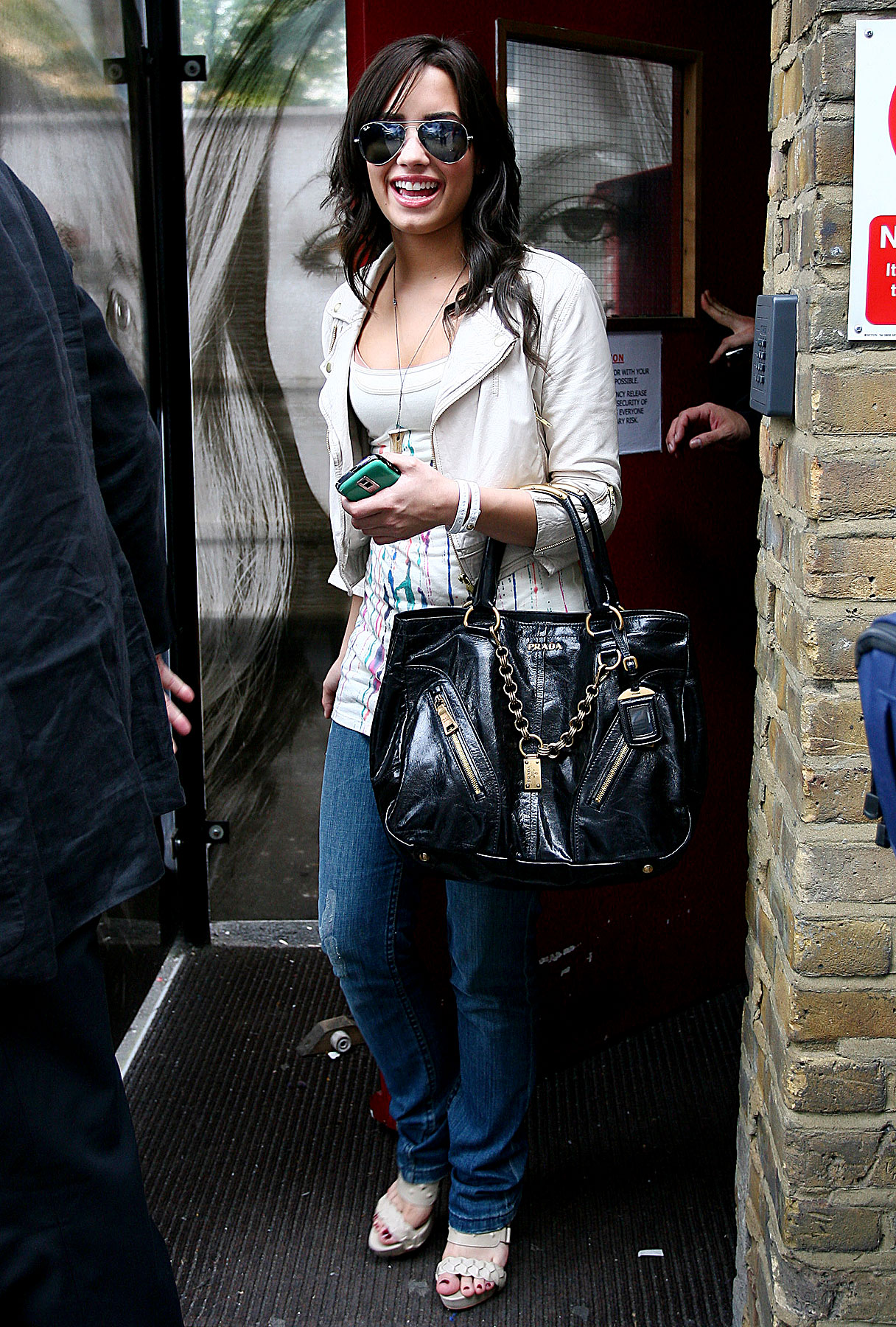 Demi Lovato is All Business in London